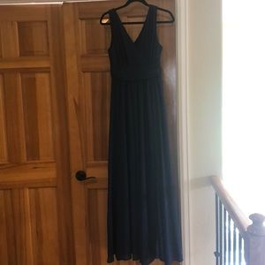Navy blue lulus gown
